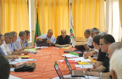Le président de la FAF a avancé la date de cette réunion mensuelle. D. R.